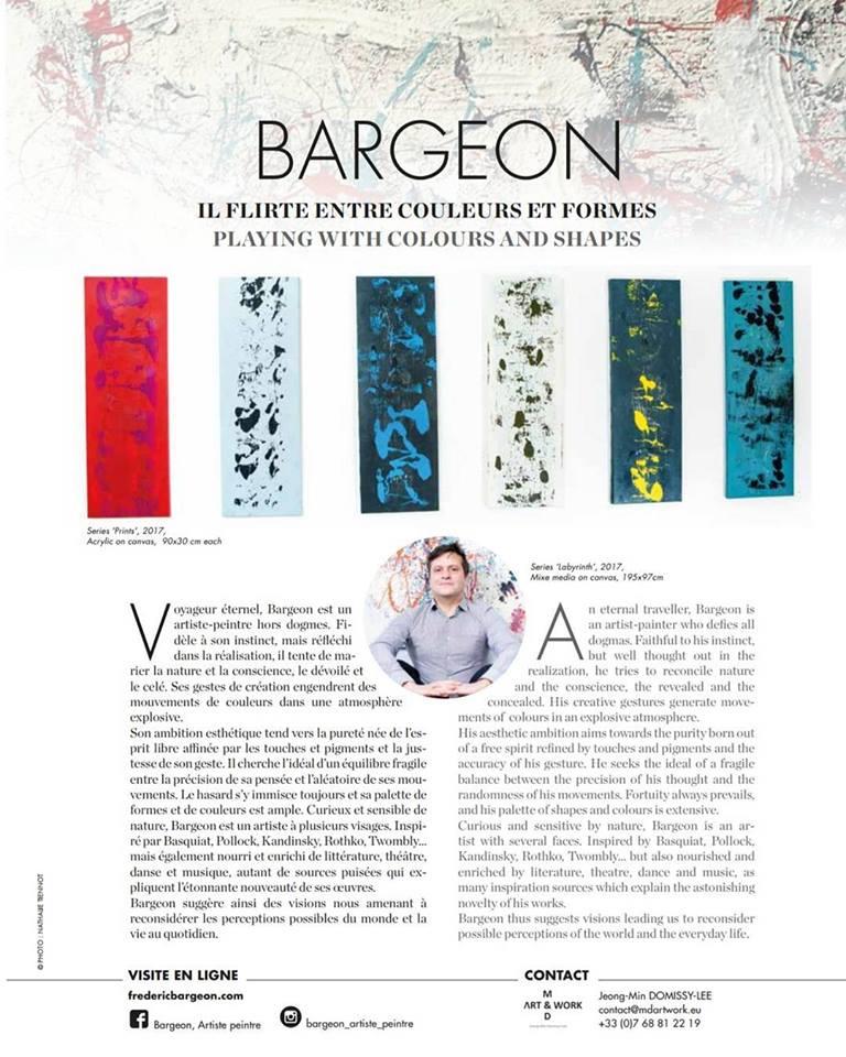 Bargeon, Antiâge N°29 2018