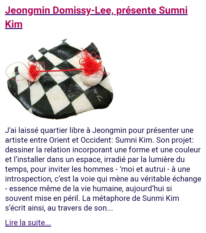 Sunmi Kim 2021