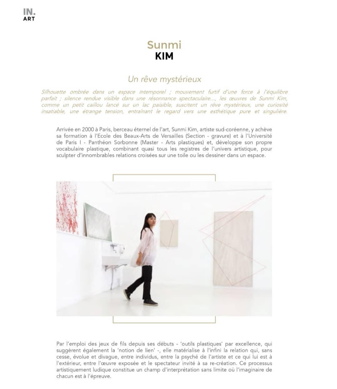 SUNMI KIM, UN RÊVE MYSTÉRIEUX, IN.LuxuryParis 2021